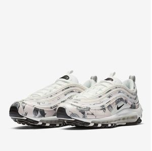 Nike Air Max 97 Womens Floral Sneakers, size 9